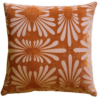 Anmoore Throw Pillow Color: Orange
