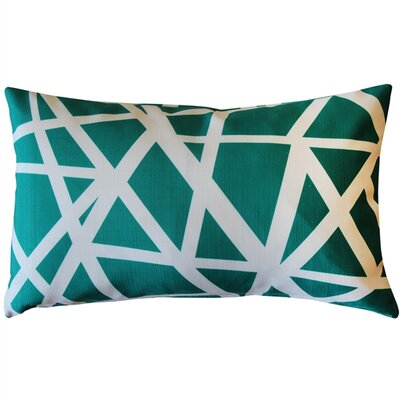 Vanbrunt Indoor/Outdoor Lumbar Pillow Color: Teal