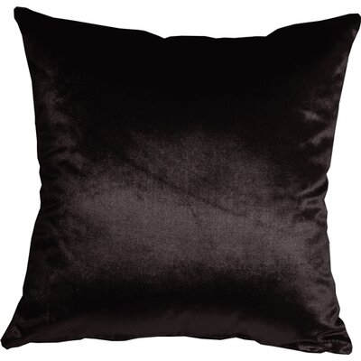 Renna Throw Pillow Size: 16 H x 16 W x 5 D, Color: Black