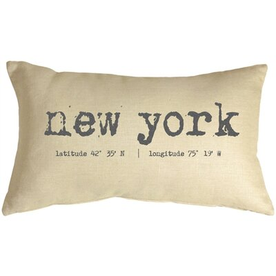 Vandenberg Coordinates Linen Lumbar Pillow