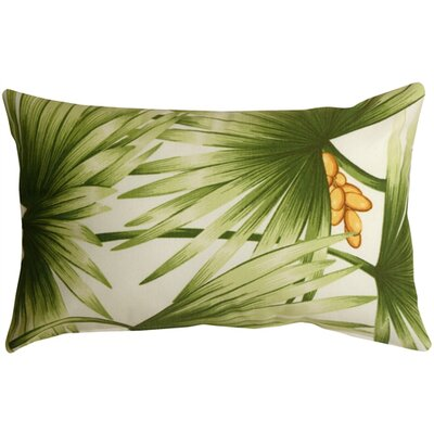 Fallsburg Palm Leaf Lumbar Pillow