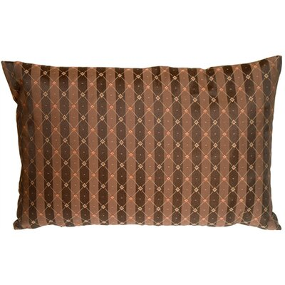 Manhattan Stripes Lumbar Pillow Color: Beige