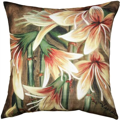 Bramwell Lily Indoor/Outdoor Throw Pillow
