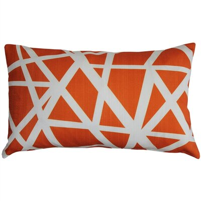 Vanbrunt Indoor/Outdoor Lumbar Pillow Color: Orange