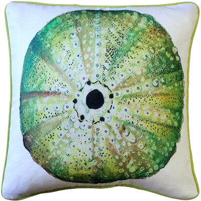 Burnham Sea Urchin Solitaire Throw Pillow