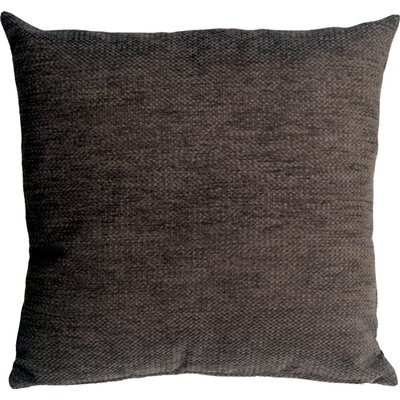 Sherwood Chenille Throw Pillow Size: 16 H x 16 W x 5 D, Color: Gray