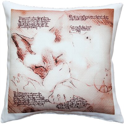 Ontario Cat Indoor/Outdoor Throw Pillow
