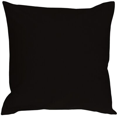 Caravan Cotton Throw Pillow Size: 16 H x 16 W x 5 D, Color: Black