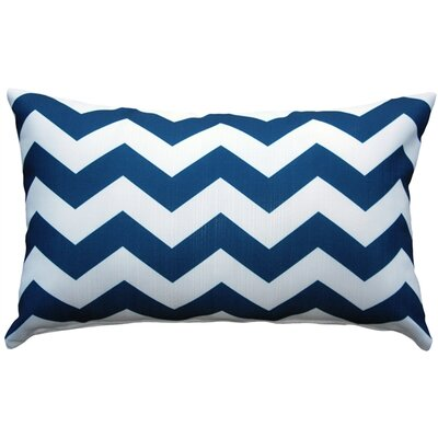 Nova Chevron Bold Indoor/Outdoor Lumbar Pillow