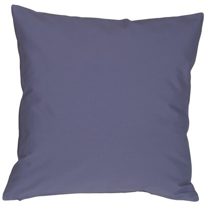 Caravan Cotton Throw Pillow Size: 16 H x 16 W x 5 D, Color: Denim Blue