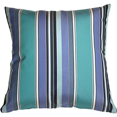 Cherryvale Oasis Stripes Outdoor Sunbrella Throw Pillow