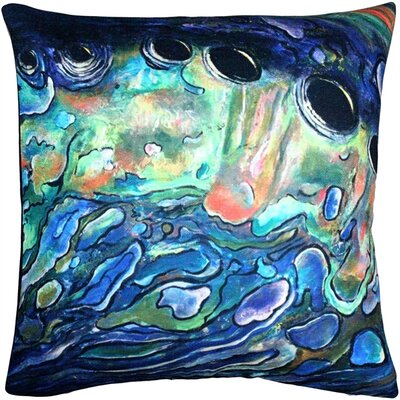 Vallo Abalone Close Up Throw Pillow