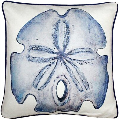 Burnham Sand Dollar Solitaire Throw Pillow