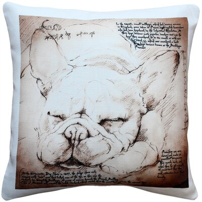 French Bulldog Dog Indoor/Outdoor Throw Pillow