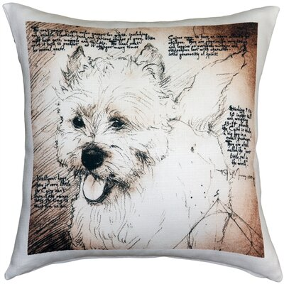 Cairn Terrier Dog Indoor/Outdoor Throw Pillow