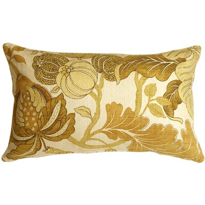 Olsen Lumbar Pillow Size: 16 H x 24 W x 8 D, Color: Yellow