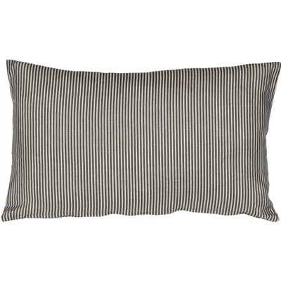 Alexandrina Linen Lumbar Pillow Color: Wedgewood Blue