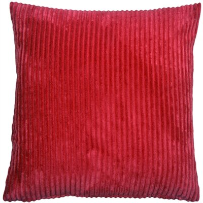 Luciana Throw Pillow Size: 22 H x 22 W x 7 D, Color: Red