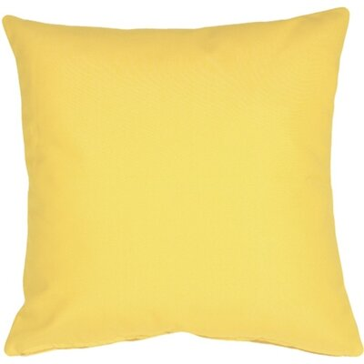 Londyn Outdoor Sunbrella Throw Pillow Color: Buttercup Yellow