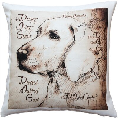 Chelwood What Makes a Dog Throw Pillow