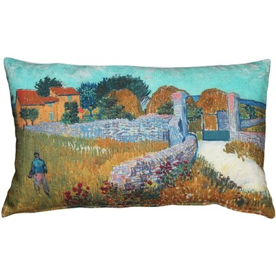 Bullion Farmhouse in Provence Lumbar Pillow