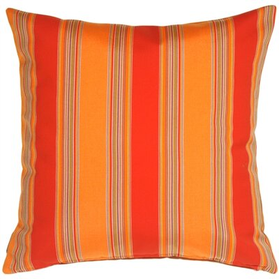 Bravada Salsa Outdoor Sunbrella Throw Pillow