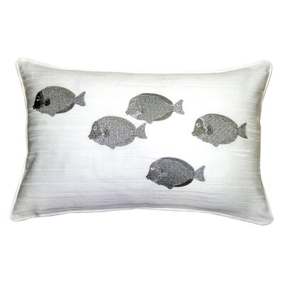 Fish Cotton Lumbar Pillow