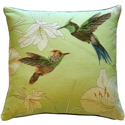 Hummingbirds Throw Pillow
