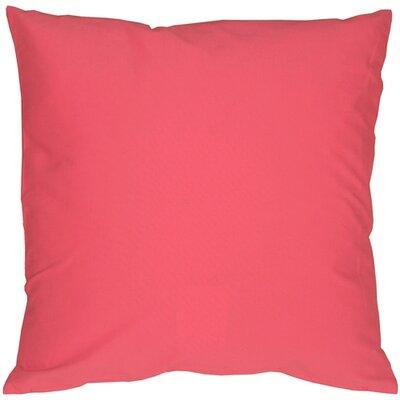 Caravan Cotton Throw Pillow Size: 20 H x 20 W x 6 D, Color: Pink