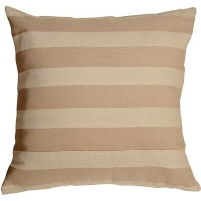 Boutin Stripes Throw Pillow Color: Cream