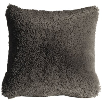 Anatole Soft Plush Throw Pillow Color: Gray