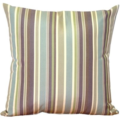 Anderson Stripes Indoor/Outdoor Sunbrella Throw Pillow