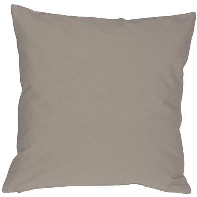 Caravan Cotton Throw Pillow Size: 20 H x 20 W x 6 D, Color: Light Gray