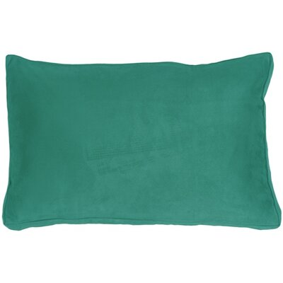Edge Royal Lumbar Pillow Color: Turquoise