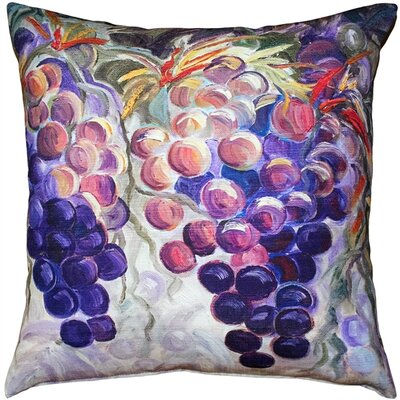 Portville Grapes Indoor/Outdoor Throw Pillow