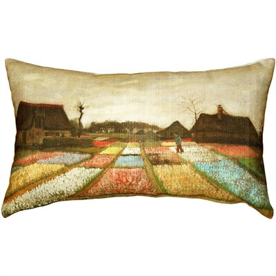 Bullion Flower Beds in Holland Lumbar Pillow