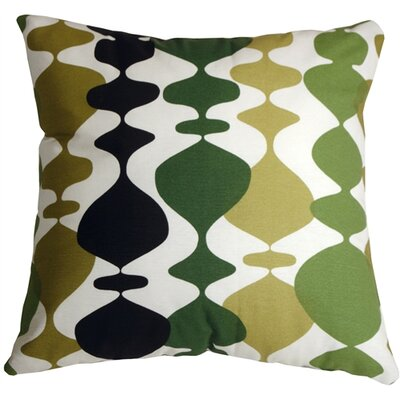 Vanatta Throw Pillow Color: Green