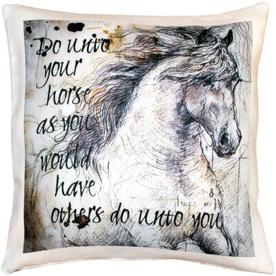 Cheddington Horse Stallion Indoor/Outdoor Throw Pillow
