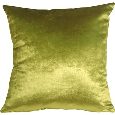 Renna Throw Pillow Size: 16 H x 16 W x 5 D, Color: Green