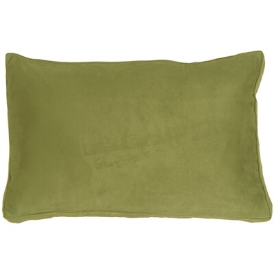 Chilverton Edge Lumbar Pillow Color: Sage Green