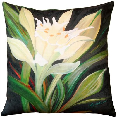 Frankfort Lily Indoor/Outdoor Throw Pillow