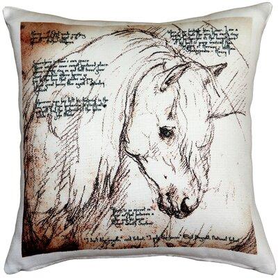 Napoli Horses Mare Indoor/Outdoor Throw Pillow