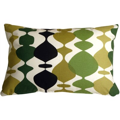 Vanatta Lumbar Pillow Color: Green