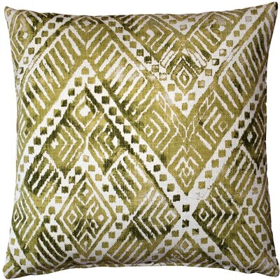 Forrest Throw Pillow Color: Green