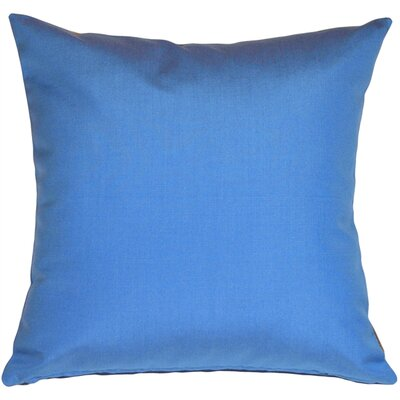 Londyn Outdoor Sunbrella Throw Pillow Color: Capri Blue