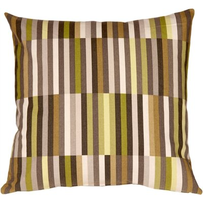 Jamaal Side Step Cotton Throw Pillow Color: Avocado