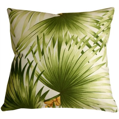 Fallsburg Palm Leaf Throw Pillow