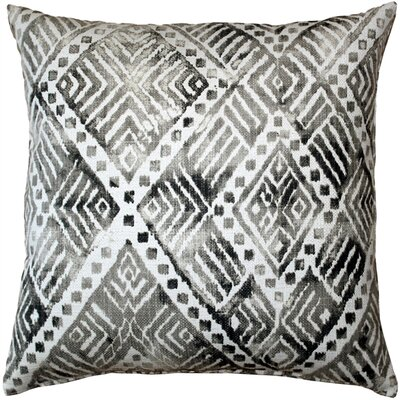 Forrest Throw Pillow Color: Gray
