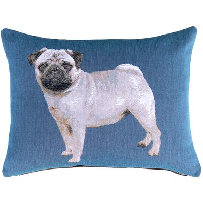Newfield Pug Lumbar Pillow