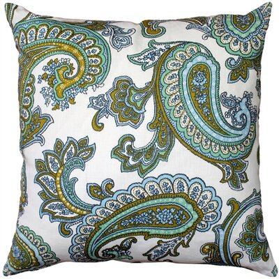 Chidley Paisley Linen Throw Pillow